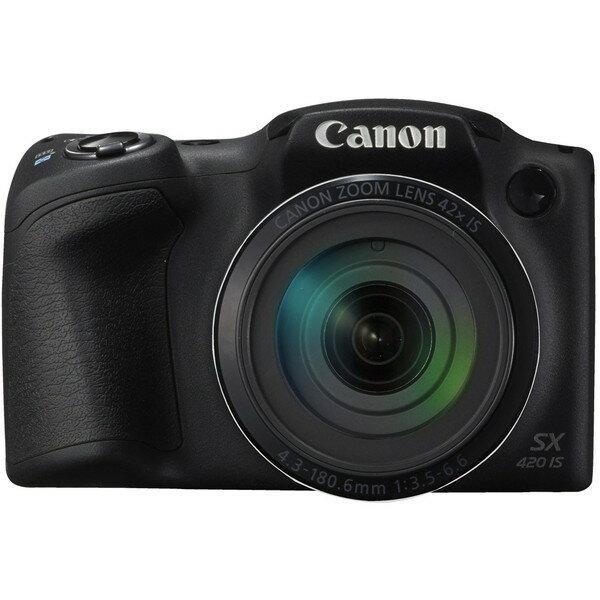 【送料無料】CANON PowerShot SX420 IS [コンパクトデジタルカメラ(約2,000万画素)]