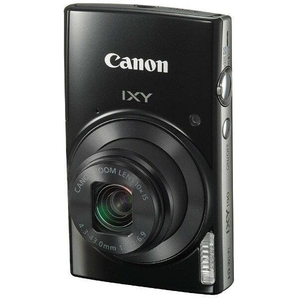 【送料無料】CANON IXY 190 ブラック [コンパクトデジタルカメラ (2000万画素)]