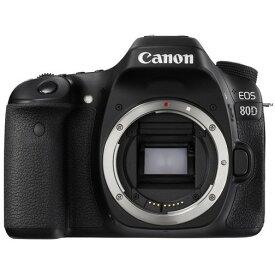 【送料無料】CANON EOS 80D ボディ EOS [デジタル一眼カメラ(約2420万画素)]