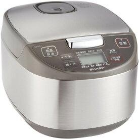 SHARP KS-S10J-S シルバー [マイコンジャー炊飯器(5.5合炊き)]