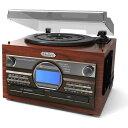 【送料無料】とうしょう TS-6160 [マルチプレーヤー(木目調WCDコピー)] レコード・カセット・CD CDへの簡単録音 高級木目調仕上げ自動曲番入り機能...