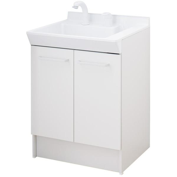 【送料無料】INAX V1N-605SY/VP1H ホワイト V1シリーズ [洗面化粧台(間口600mm・2枚扉タイプ)]