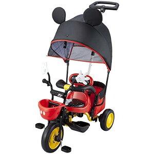 ides カーゴサンシェード ミッキーマウス(33190) [三輪車] 子供用 幼児用 幼児車 キッズバイク ジュニア メーカー直送