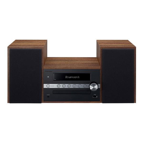 【送料無料】PIONEER X-CM56-B ブラック [CDミニコンポ(Bluetooth対応・USB端子搭載)]