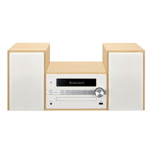 【送料無料】PIONEER X-CM56-W ホワイト [CDミニコンポ(Bluetooth対応・USB端子搭載)]