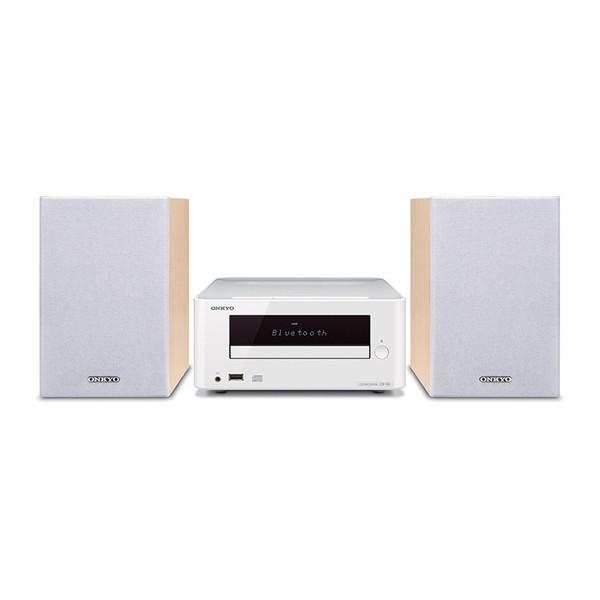 【送料無料】ONKYO X-U6-W ホワイト [CDミニコンポ(Bluetooth対応・USB端子搭載)] オンキョー MP3 スピーカー ブルートゥース 白 CD-R ラジオ スマホ接続