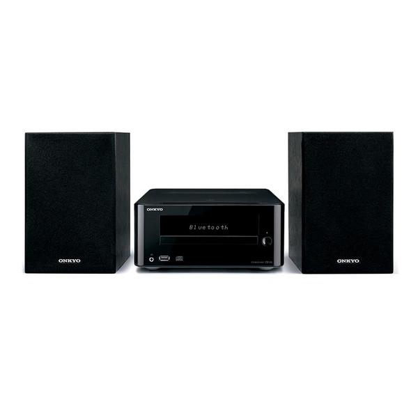 【送料無料】ONKYO X-U6-B ブラック [CDミニコンポ(Bluetooth対応・USB端子搭載)] オンキョー MP3 スピーカー ブルートゥース 黒 CD-R ラジオ スマホ接続