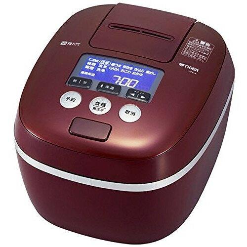【送料無料】タイガー 炊飯器 5.5合 JPC-A100-RB 圧力 IH 麦ごはん TIGER バーガンディ 炊きたて [圧力IH炊飯ジャー (5.5合炊き)]