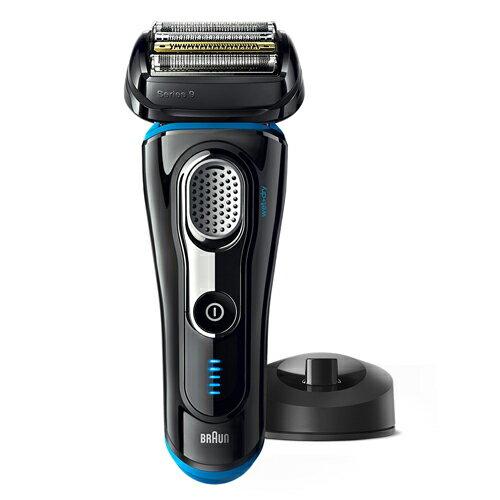 【送料無料】ブラウン シェーバー (4枚刃・充電式) BRAUN 9240s ブラック シリーズ9 お風呂剃り対応 往復式 深剃り キワゾリ刃 髭剃り 国内海外兼用