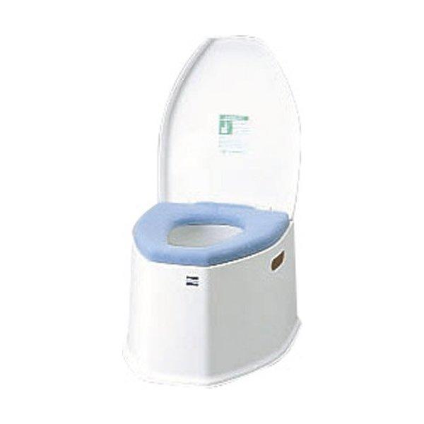 アロン化成 安寿 ポータブルトイレ SP 533-222 介護用品 簡易トイレ 簡単トイレ 排泄関連 非常用 介助 高齢者 防災 災害 抗菌加工