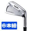 本間ゴルフ(HONMA) ツアーワールド TW737Vs アイアンセット6本組 NS PRO MODUS3 TOUR105 スチールシャフト フレックス…