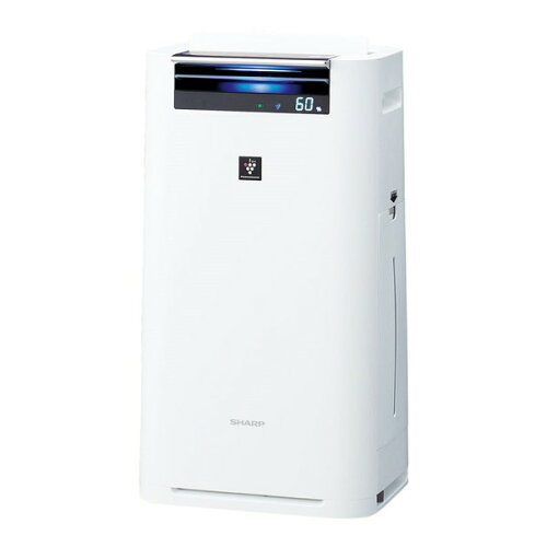 SHARPKI-GS50-Wホワイト系[加湿空気清浄機(空気清浄〜23畳/加湿〜15畳まで)]