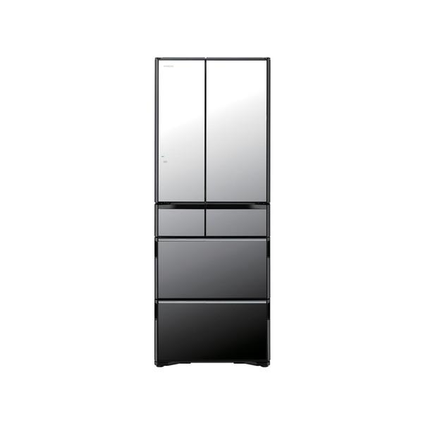 【送料無料】日立 R-WX5600G(X) クリスタルミラー 真空チルド [冷凍冷蔵庫(555L・フレンチドア)]