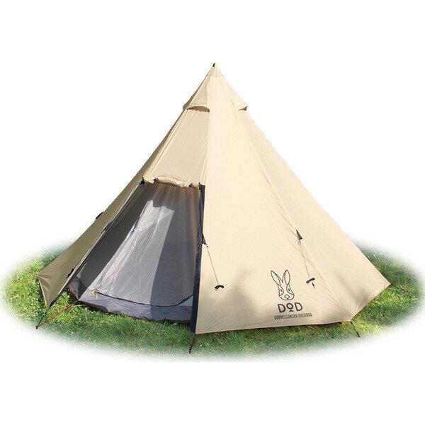 【送料無料】DOD T8-200T ベージュ [ビッグワンポールテント] アウトドア キャンプ