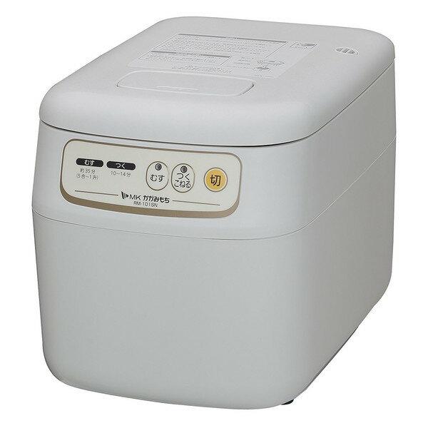 【送料無料】餅つき機 1升 エムケー精工 RM-101SN かがみもち MK マイコンもちつき機(5合〜1升) もちつき機 餅 おもち むす つく こねる 上蒸し式 ふっくら 赤飯 おこわ 本格 コシ 粘り 簡単
