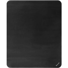 デスクごとチェアマット Bauhutte バウヒュッテ BCM-160BK マットブラック 特大サイズ160×130cm 厚さ1.5mm
