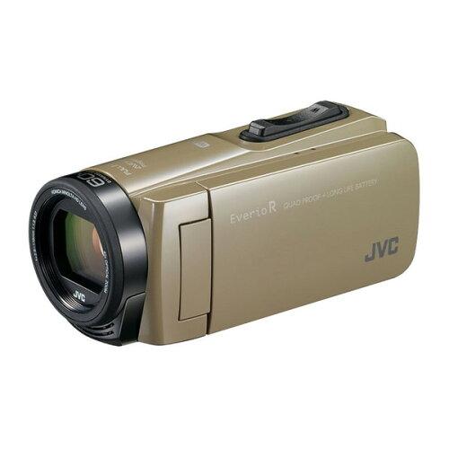 【送料無料】JVC(ビクター/VICTOR)ビデオカメラ64GB大容量バッテリーGZ-RX670-Cサンドベージュ)約4.5時間連続使用可能運動会学芸会海プール旅行アウトドア長時間録画卒園入園卒業式入学式成人式結婚式出産小型