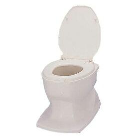 アロン化成 安寿 533446 アイボリー [サニタリーSP据置式 簡易設置トイレ] 洋式 簡単取付 簡易トイレ 介護用品 介助 高齢者