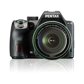 PENTAX K-70 18-135WRキット ブラック [デジタル一眼レフカメラ(2424万画素)]