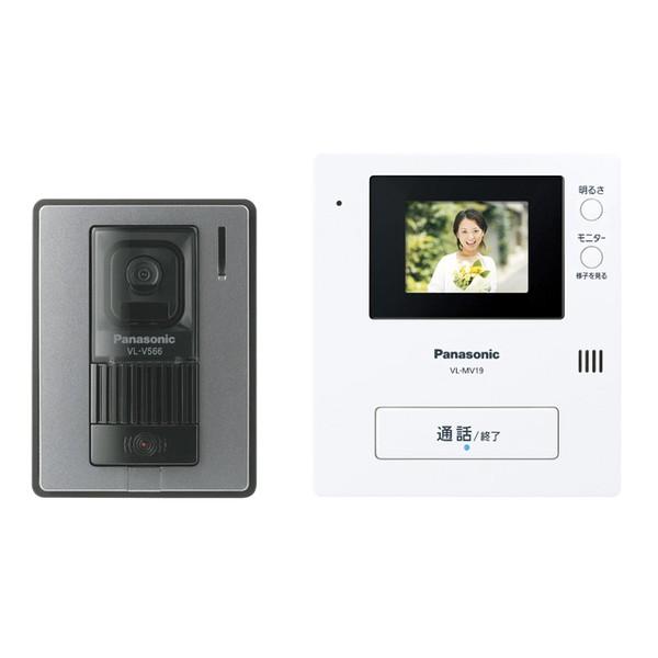 【送料無料】PANASONIC VL-SV19K [テレビドアホン]