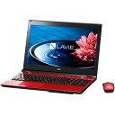 【送料無料】NEC PC-SN234HSA8-4 クリスタルレッド LAVIE Smart NS [ノートパソコン 15.6型ワイド DVDスーパーマルチドライ...