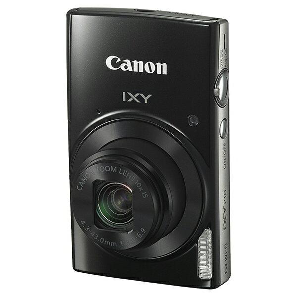 【送料無料】CANON IXY 210 ブラック [コンパクトデジタルカメラ(2000万画素)]