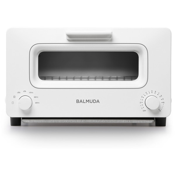 【送料無料】BALMUDA K01E-WS ホワイト The Toaster [オーブントースター(1300W)]