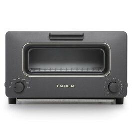 【送料無料】BALMUDA K01E-KG ブラック The Toaster [オーブントースター(1300W)] K01EKG バルミューダ スチーム機能 リフレッシュモデル トースター
