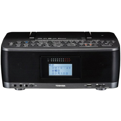 東芝TY-CWX90(KM)ガンメタリック[CDラジオ(Bluetooth機能搭載・SD/USB対応)]