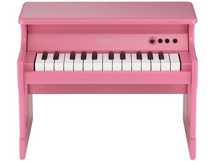 【送料無料】KORG tinyPIANO PK ピンク [電子ピアノ]