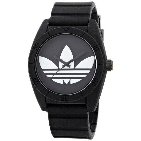 【送料無料】ADIDAS アディダス ADH6167 ブラック 黒 SANTIAGO(サンティアゴ) クオーツ [腕時計 ユニセックス]