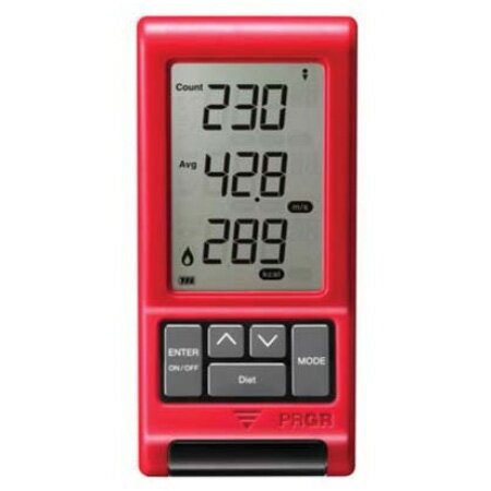 【送料無料】プロギア RED EYES POCKET HS-110 ヘッドスピード測定器