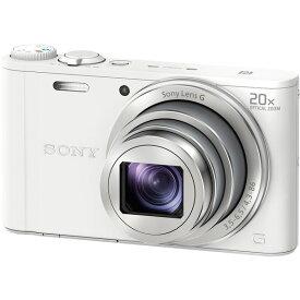 【送料無料】SONY DSC-WX350-W ホワイト サイバーショット [コンパクトデジタルカメラ(1820万画素)]