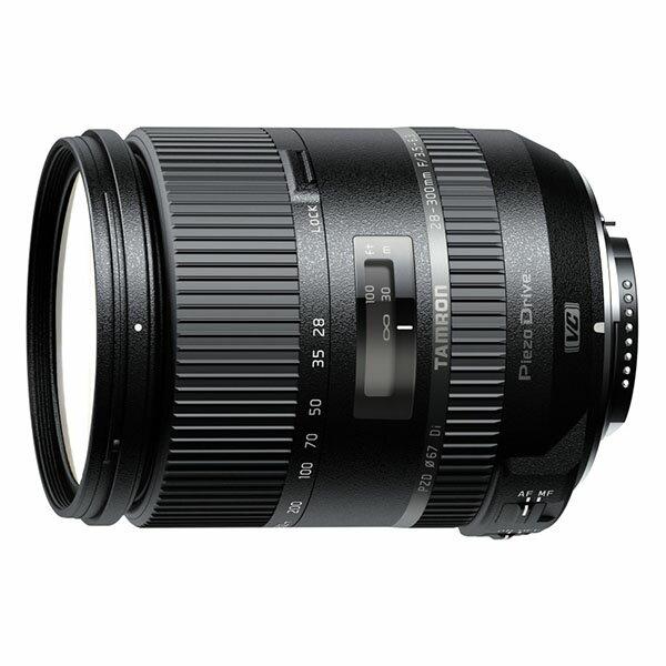 【送料無料】TAMRON タムロン 28-300mm F/3.5-6.3 Di VC PZD (Model A010) キヤノン用 [高倍率ズームレンズ]