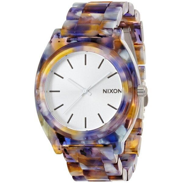 【送料無料】NIXON ニクソン A3271116 THE TIME TELLER ACETATE ウォーターカラー [腕時計]