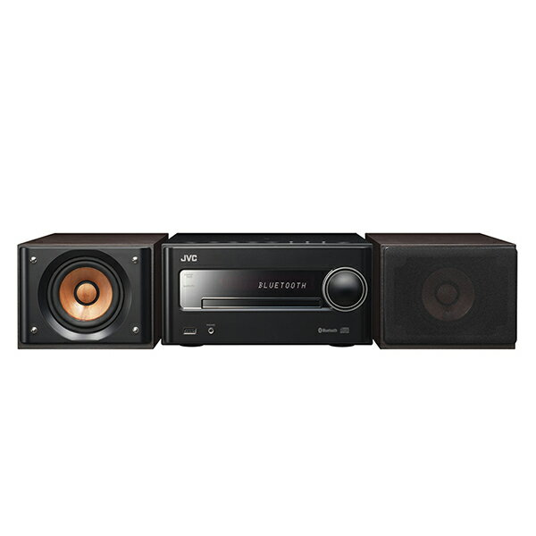 【送料無料】JVC EX-S5-B ブラック [Bluetooth/NFC搭載ミニコンポ (iPod・USB・CD対応)]