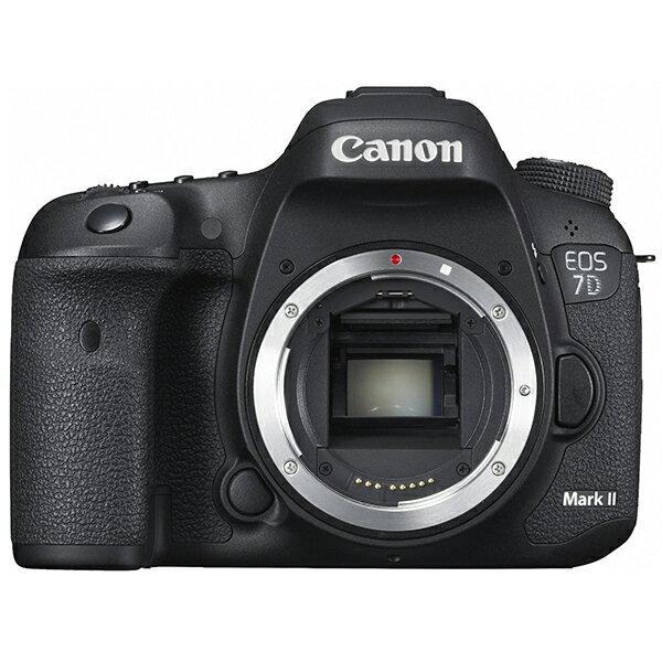 【送料無料】CANON EOS 7D Mark II ボディ [デジタル一眼レフカメラ(2020万画素)]