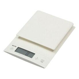 はかり クッキングスケール タニタ KD-320-WH ホワイト TANITA KD320 デジタル キッチンスケール 量り お菓子作り パン作り mLモード(水や牛乳も量れる) 微量モード 0.1g単位 (0〜300g)