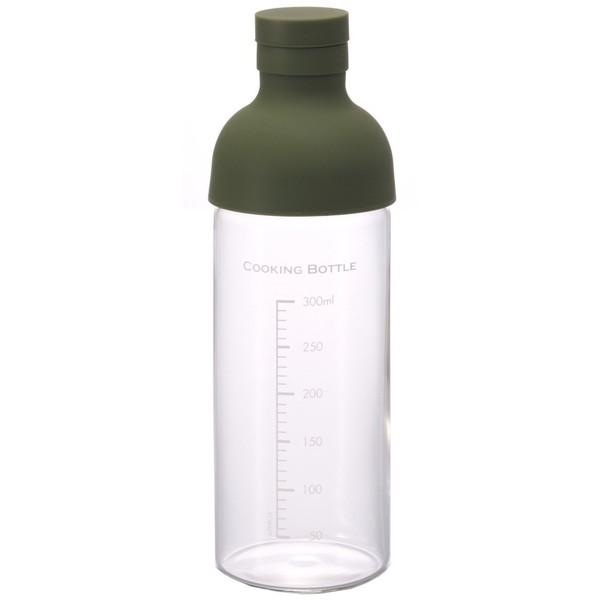 HARIO CKB-300-OG オリーブグリーン [クッキングボトル (300ml)] 調味料 保存 手作り 調理 食卓 便利 ハリオ