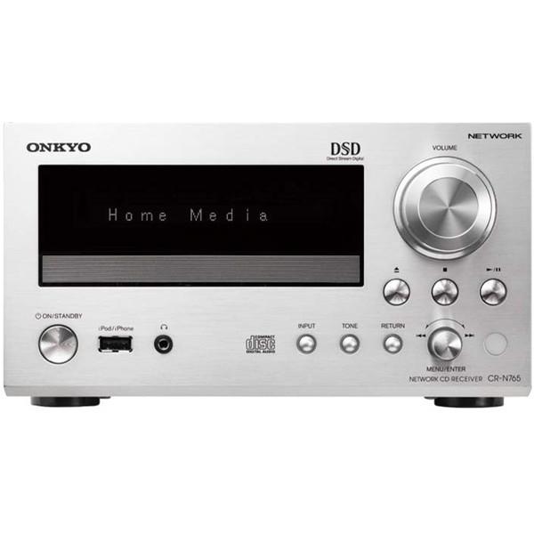 【送料無料】ONKYO CR-N765-S シルバー [CDレシーバー (ハイレゾ音源対応)]