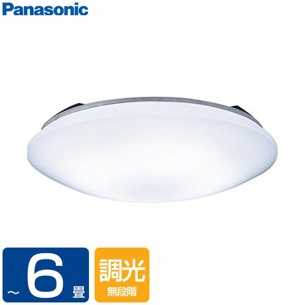 PANASONIC LSEB1068K [洋風LEDシーリングライト(〜6畳/調光)リモコン付き サークルタイプ カチットF]