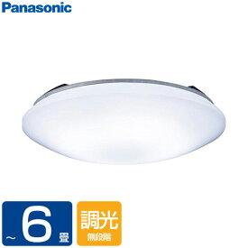 【送料無料】PANASONIC LSEB1068K [洋風LEDシーリングライト(〜6畳/調光)リモコン付き サークルタイプ カチットF]