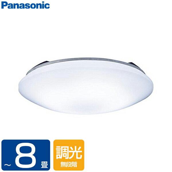 【送料無料】PANASONIC LSEB1070K [洋風LEDシーリングライト(〜8畳/調光)リモコン付き サークルタイプ カチットF]