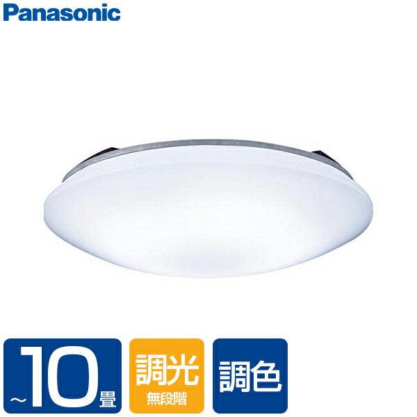 【送料無料】PANASONIC LSEB1071K [洋風LEDシーリングライト(〜10畳/調色・調光)リモコン付き サークルタイプ カチットF]