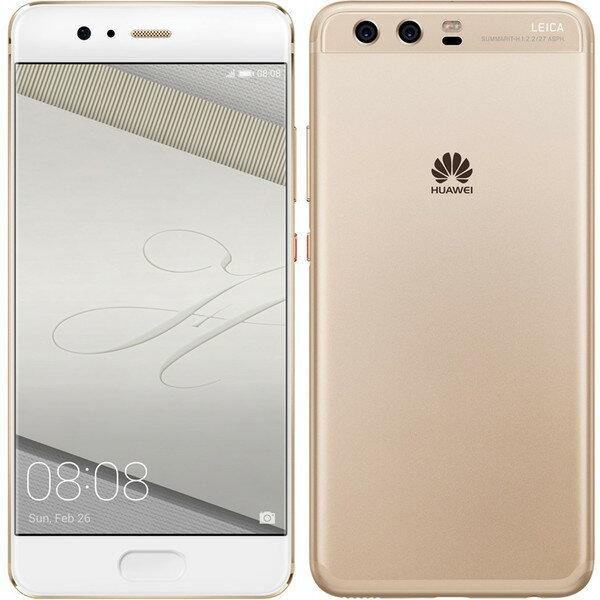 【送料無料】Huawei VTR-L29-GOLD P10 SIMフリー プレステージゴールド [スマートフォン 5.1型液晶 Android 7.0搭載]