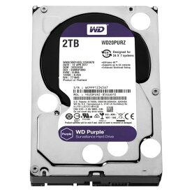 WESTERN DIGITAL WD20PURZ WD Purple [3.5インチ内蔵HDD(2TB・3.5インチ・SATA600)] 【同梱配送不可】【代引き・後払い決済不可】【沖縄・離島配送不可】