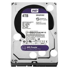 WESTERN DIGITAL WD40PURZ WD Purple [3.5インチ内蔵HDD(4TB・3.5インチ・SATA600)]