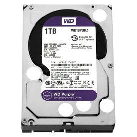 WESTERN DIGITAL WD10PURZ WD Purple [3.5インチ内蔵HDD(1TB・3.5インチ・SATA600)]【同梱配送不可】【代引き・後払い決済不可】【沖縄・離島配送不可】