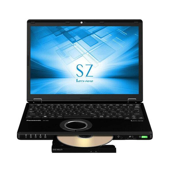 【送料無料】PANASONIC CF-SZ6CFMQR ブラック Let's note SZ6 SIMフリーモデル [ノートパソコン 12.1型ワイド液晶 SSD256GB DVDスーパーマルチ]【同梱配送不可】【代引き不可】【沖縄・離島配送不可】