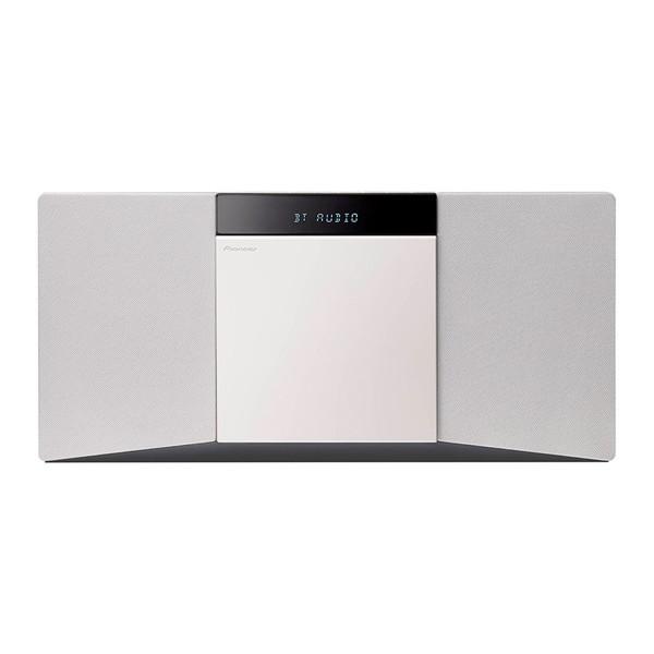 【送料無料】PIONEER X-SMC02(W) ホワイト [CDミニコンポ(Bluetooth対応・USB端子搭載)]